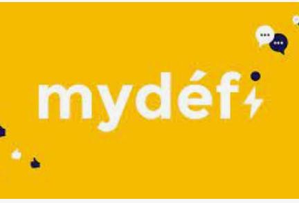 application mydéfi